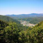 Ronco Scrivia dal sentiero per il Monte Reale