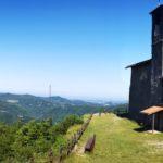 Il panoramico santuario di Monte Reale