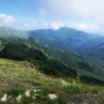 Panorama dal Monte Carmo di Carrega