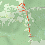 Cartina - Monte Carmo di Carrega