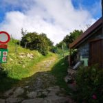 Imbocco sentiero per il Monte Carmo di Carrega