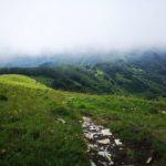 Nuvole basse al Monte Carmo di Carrega