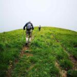 Verso la cima del Monte Carmo di Carrega