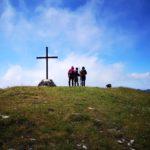 Sulla cima del Monte Carmo di Carrega