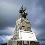 Madonna con bambino sulla cima del Monte Penna