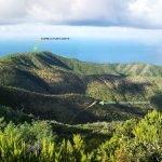 La passeggiata per Punta Baffe vista dal sentiero per Monte Moneglia