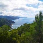 Vista sui promontori da Punta Baffe