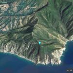 Punta Baffe vista da Google Earth
