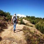 Sul sentiero di Punta Baffe