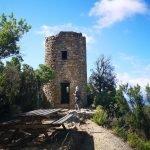Sosta presso la torre di Punta Baffe