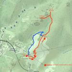 Cartina - Cappella della Baiarda