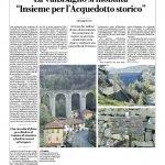 L'articolo de La Repubblica sull'acquedotto storico di Genova
