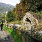 Antichi filtri lungo l'acquedotto storico