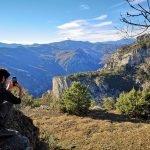 Fotografando il Varatella sul ciglio della Valle del Vero