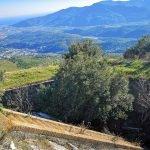 Panorama dalla vetta della Rocca Liverna