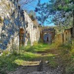 L'ingresso al Forte di Rocca Liverna