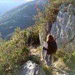 Scendendo a Toirano da San Pietrino