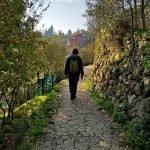 Lungo l'acquedotto verso San Siro di Struppa