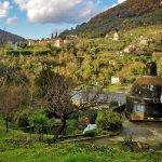 Vista dall'acquedotto, via Aicardi