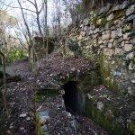 Muretti a secco presso l'antico acquedotto