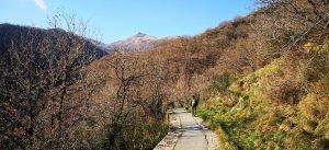 sull'acquedotto in vista del Monte Diamante