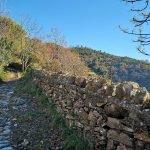 Verso Santa Croce (in cima alla collina)