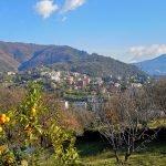 Vista da viale Pino Sottano
