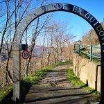 L'arco del percorso verde a N.S. della Guardia