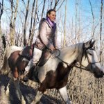 A cavallo sulla ex guidovia