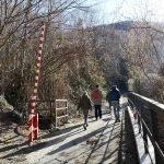 Imbocco del percorso a Sareto
