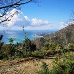 Vista su Arenzano dal bivio per Canova