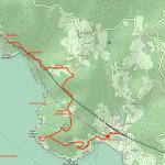 Cartina Bonassola-Framura