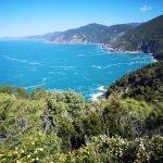 La costa a ponente dal Salto della lepre a Bonassola
