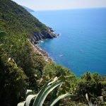 La costa tra Prevo e Vernazza