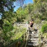 Salendo per le scale rocciose tra Corniglia e Vernazza