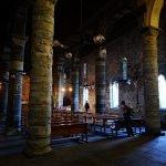 Tra le colonne di Santa Margherita di Antiochia a Vernazza