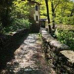 Sul ponte medievale del Ciaè