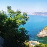 La Baia della Marina vista dalla terrazza di Corniglia